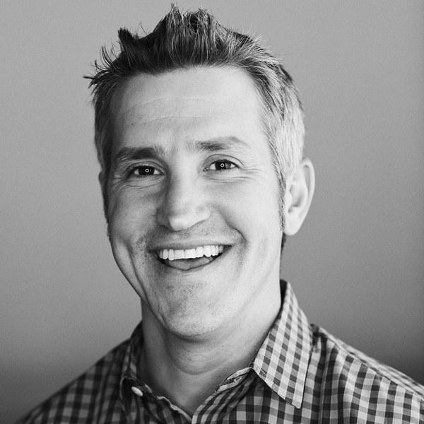 Jon Acuff's Sharing Hope Interview Headshot Photograph