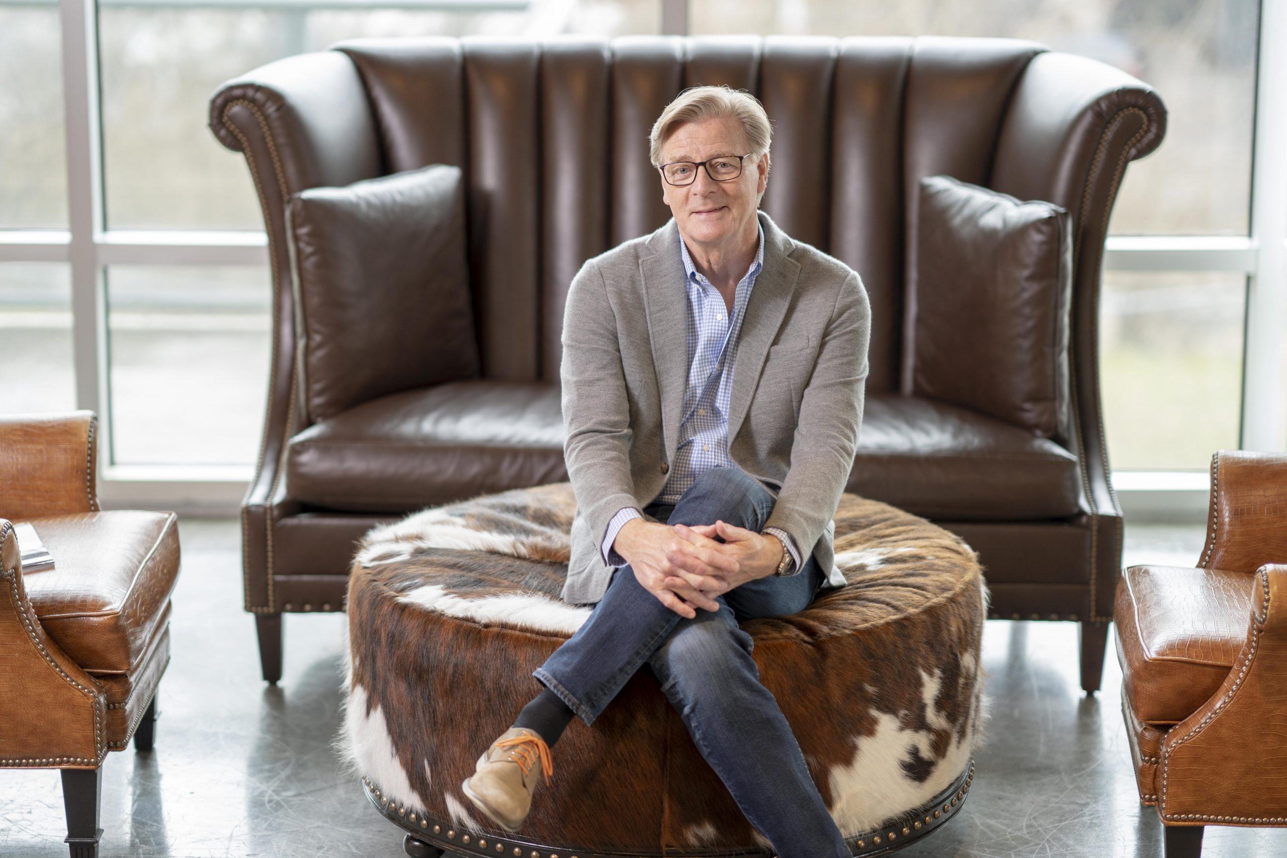 Michael Blanton's Sharing Hope Interview Headshot Photograph