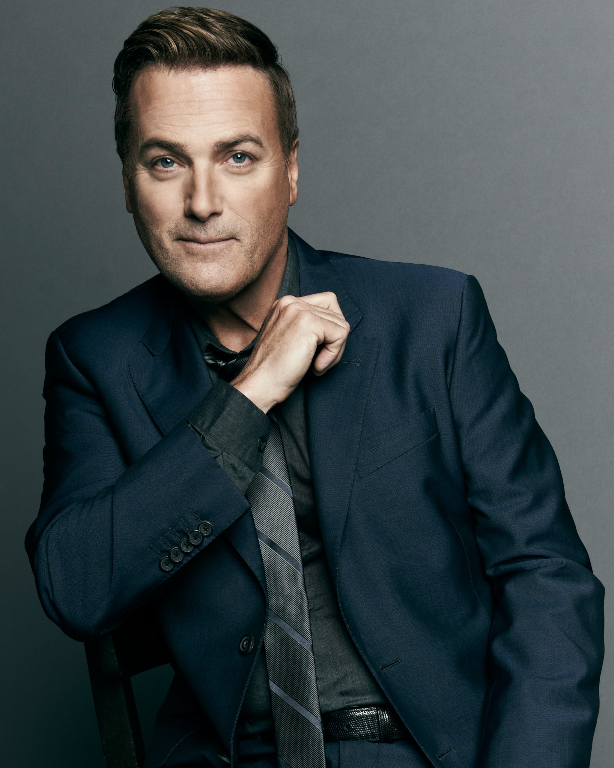 Michael W. Smith's Sharing Hope Interview Headshot Photograph