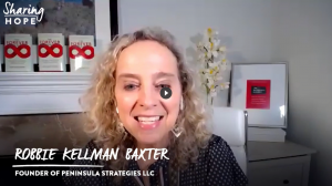 Robbie Kellman Baxter's Sharing Hope Interview